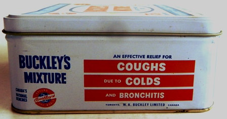 Buckley's Cough Mixtures 75th Anniversary Box