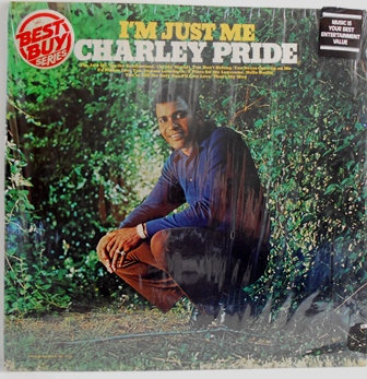 Charley Pride I'm Just Me LP Record Album