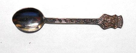 Rhodes Greece Souvenir Spoon