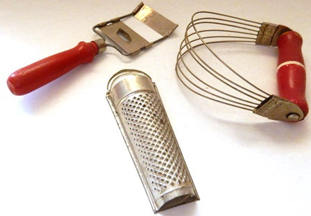Vintage grater and mixer 1940s