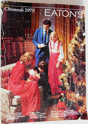 Eaton's Christmas 1975 Catalogue