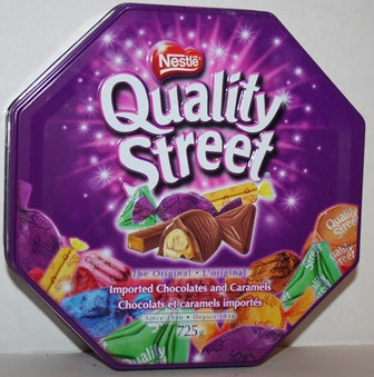 NESTLE Quality Street Chocolates & Toffees Tin