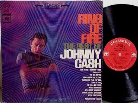 JOHNNY  CASH • RING OF FIRE Album 1963