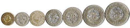 Romania 1950-1966 Leu & Bani Coins Lot (7)