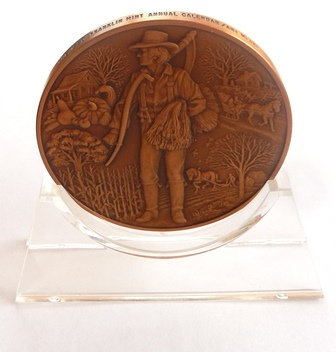 1980 Franklin Mint Bronze Medal