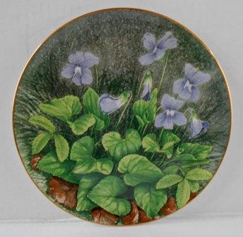 New Brunswick Marsh Blue Violet  Plate