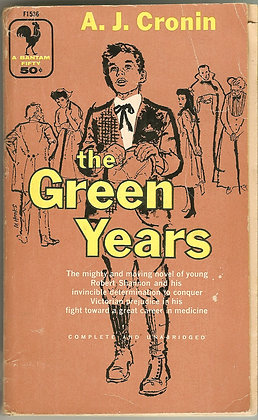 The Green Years by A.J. Cronin, 1944