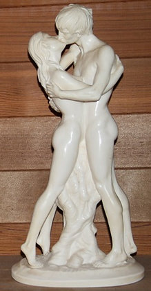 """Sculpture by A. Santini - """"The Kiss"""""""