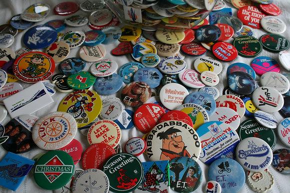 Button Pin Badge Collection