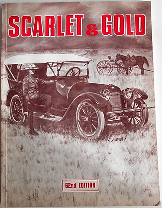 Scarlet & Gold 62nd Edition Book
