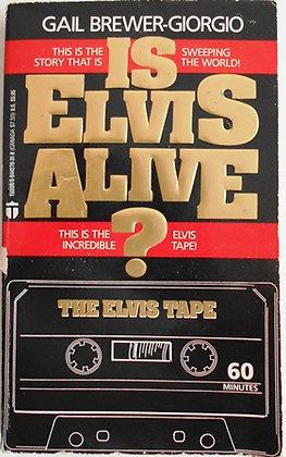 ELVIS PRESLEY, 1988 BOOK - IS ELVIS ALIVE?