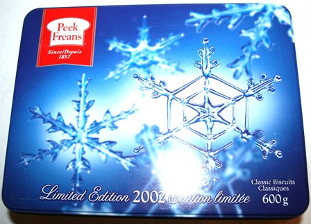 Peek Frean Biscuit Tin Issued in 2002