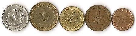 GERMANY BUNDESREPUBLIK DEUTSCHLAND Coins