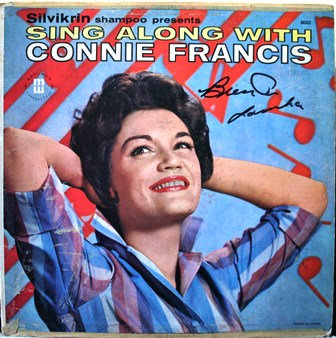 "CONNIE FRANCIS ""Sing Along With"" SILVIKRIN Shampoo"