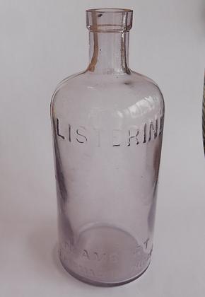 Vintage Listerine Bottle Lambert Pharmacal Company
