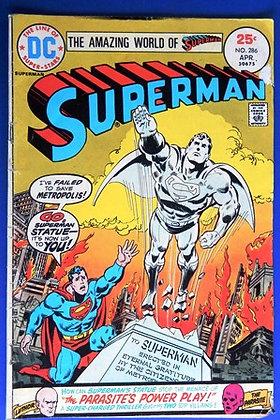 Superman Comic Book, 1975