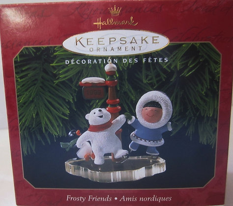 1999 HALLMARK Keepsake Ornament Frosty Friends