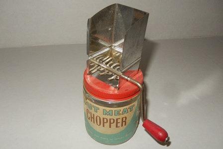 Vintage Nut Meat Chopper