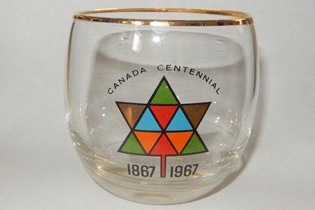1867-1967 Centennial Collectible glass