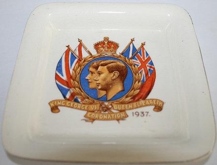1937 George VI & Elizabeth Coronation Dish