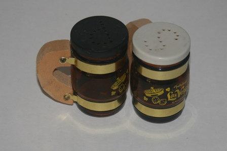 Beer Mug Salt & Pepper Shakers