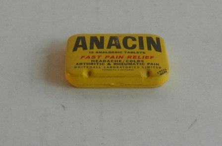 Vintage Anacin Tablet Tin