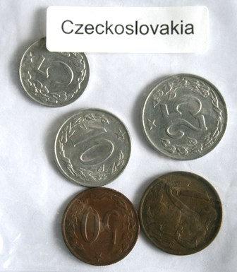 Ceskoslovenska Coins