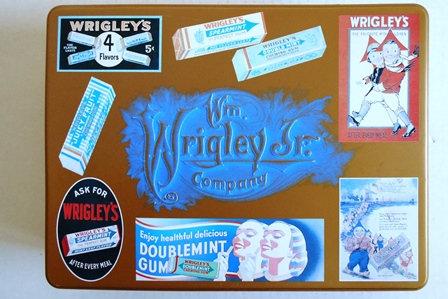 Wm Wrigley's Jr Tin Box