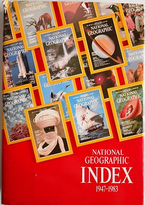 National Geographic Index 1947 - 1983