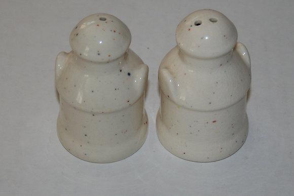 Vintage Ceramic Milk Cans Salt and Pepper Shakers