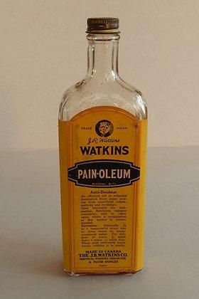 Vintage Watkins Pain-Oleum Bottle
