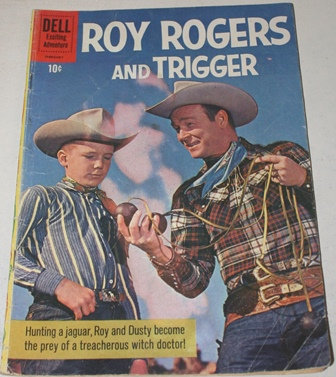 Roy Rogers and Trigger Vol 1  #141 Dell comic 196