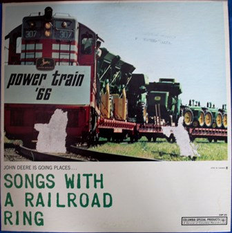 John Deere Power Train 66 Record Johnny Cash BOB D