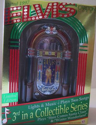 Elvis Presley Jukebox 1997 Ornament