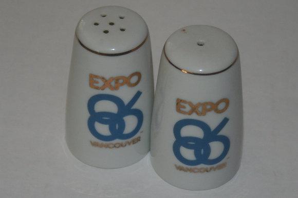 Expo '86 Salt & Pepper Shakers