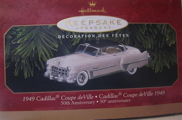 Hallmark Keepsake 1949 Cadillac Coupe deVille 1999