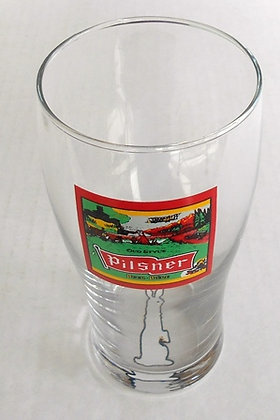 Old Style Pilsner Pint Beer Glass