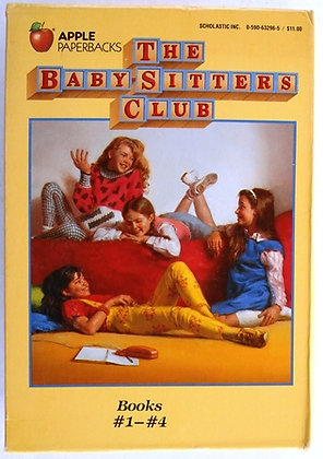Vintage Baby-Sitters Club Books  #1 - 4