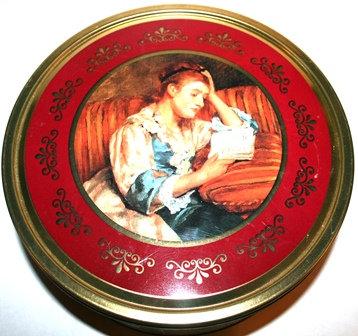 "Vintage Danish Butter Cookie Tin 10 1/2"""