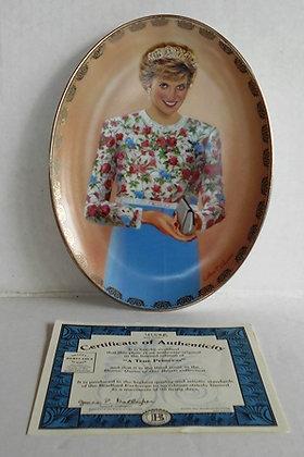 A True Princess Diana Collector Plate