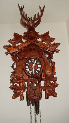 Cuckoo Clock - After the Hunt - 8 day with music