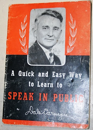Dale Carnegie  Quick  Way to Public Speaking