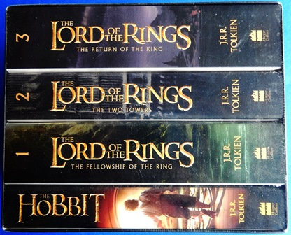 The Hobbit And The Lord Of The Rings - 4 Book Box