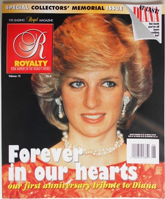Royalty Magazine Tribute to Diana Vol 15 No. 6
