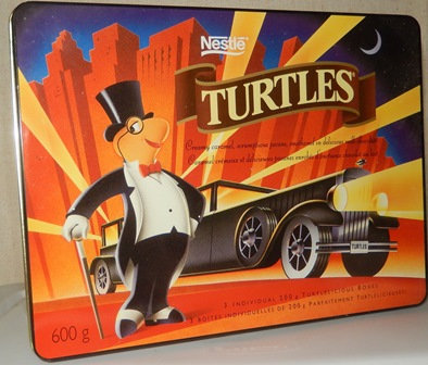 Turtles Chocolates Limited Edition Collectible Tin