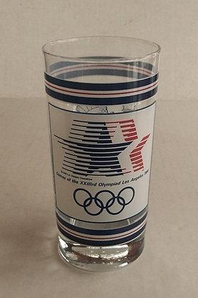 1984 Olympics Sam The Eagle Collector Glass Tumble