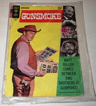 Vintage Gunsmoke Comic Book
