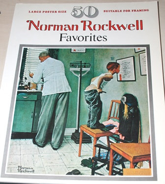 Norman Rockwell Poster Book 1977