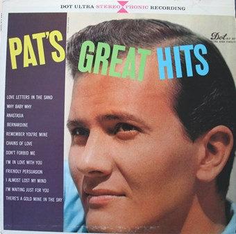 Pat's Greatest Hits - Dot Ultra High Fidelity