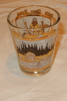 North Pole Santa Claus House Shotglass